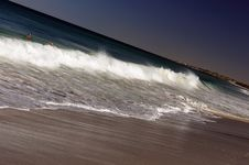 Free Large Ocean Waves Royalty Free Stock Photography - 13704407