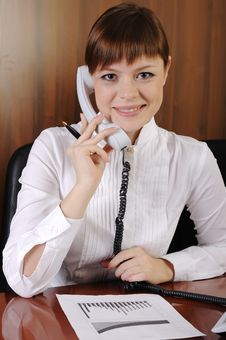 Free Charming Business Woman Stock Photos - 13704423