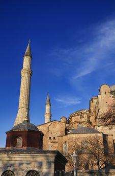 Turkey, Istanbul, St. Sophia Cathedral Royalty Free Stock Photos