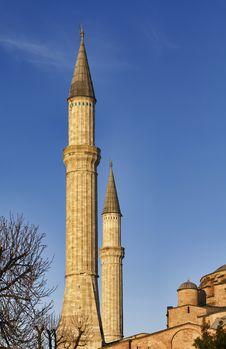 Turkey, Istanbul, St. Sophia Cathedral Stock Photo