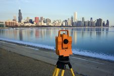 Free Surveying In Chicago Royalty Free Stock Photos - 13704668