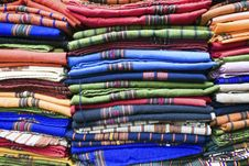 Free Colorful Blankets Royalty Free Stock Image - 13704716
