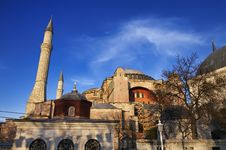 Turkey, Istanbul, St. Sophia Cathedral Stock Photography