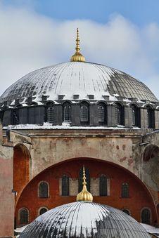 Turkey, Istanbul, St. Sophia Cathedral Stock Image