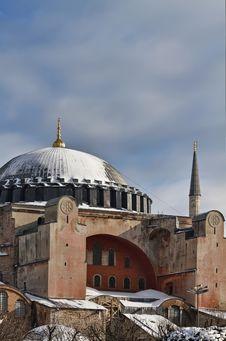Turkey, Istanbul, St. Sophia Cathedral Royalty Free Stock Photo