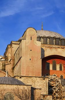 Turkey, Istanbul, St. Sophia Cathedral Royalty Free Stock Image