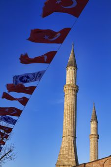 Turkey, Istanbul, St. Sophia Cathedral Stock Photos
