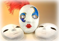 Free Carnivale Masks Stock Photo - 13705180