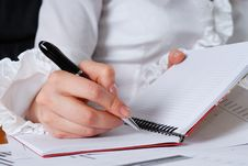 Free The Signing Of Important Documents Royalty Free Stock Images - 13705229