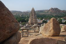 Free Hampi Temples Stock Images - 13706264
