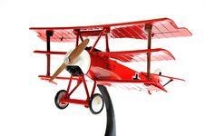 Free Red Toy Plane Royalty Free Stock Image - 13706826