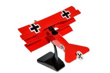 Red Toy Plane Royalty Free Stock Photos