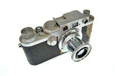 Free Old Camera Royalty Free Stock Photo - 13706995