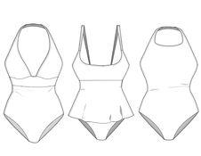 Free Ladies Missy Swimwear Blocks_2 Stock Images - 13707604