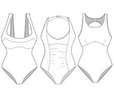Free Ladies Missy Swimwear Blocks_3 Stock Image - 13707651