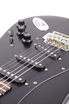 Free Electric Guitar Detail Royalty Free Stock Photos - 13707668