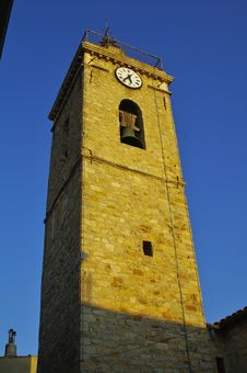 Bell Tower Of Mougins