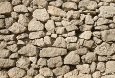 Free Stone Wall Royalty Free Stock Photo - 13707785