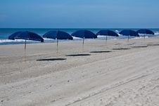 Free Beach Umbrellas 1 Royalty Free Stock Images - 13708169