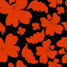 Free Red Seamless Pattern Royalty Free Stock Photo - 13708195