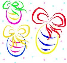 Free Easter Eggs Royalty Free Stock Photo - 13708315
