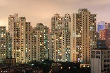 Free Night Scene Shanghai Stock Photo - 13708760