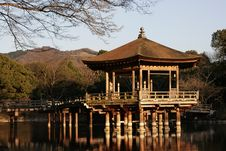 Free Pavilion On A Lake Stock Photography - 13708822