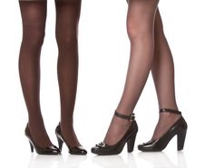 Free Beautiful Legs In Black Shoes Stock Photo - 13708890