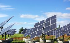 Free Photovoltaic Panels . Stock Photography - 13709232