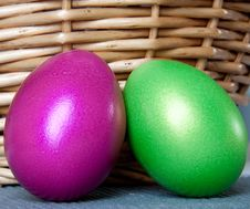 Free Easter Eggs Stock Photography - 13709612