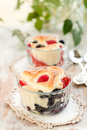 Free Fruit Pudding With Berry Stock Photos - 13711853