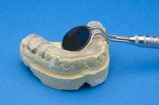 Free Dental Bite Blue Stock Photos - 13710713