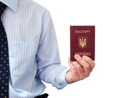 Free The Passport  In A Man S Hand Royalty Free Stock Photography - 13710767