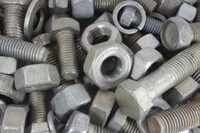 Free Nuts, Bolts. Stock Image - 13710981