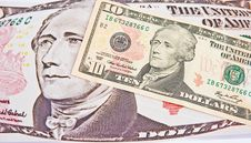 The US Dollar: Inflationary Pressure. Royalty Free Stock Photo