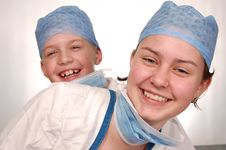 Free Young Doctors Royalty Free Stock Photos - 13712038