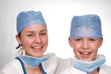 Free Young Doctors Stock Photos - 13712113
