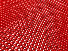 Free Red Spheres Structured As Grid Array Isolated Royalty Free Stock Photo - 13712375