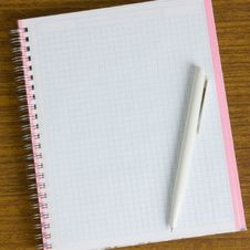 Free Notebook And Pen Stock Photography - 13713742