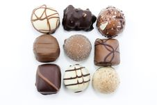 Free Square Of Choclates Royalty Free Stock Images - 13713839