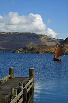 Free Boat On Uk Lakes Royalty Free Stock Image - 13713996