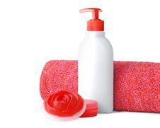 Free Bathroom Objects Royalty Free Stock Photo - 13714285