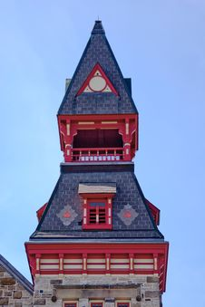 Free Architectural Detail Of Steeple Stock Images - 13714504