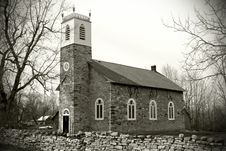 Free Old Stone Country Church Stock Photos - 13714523