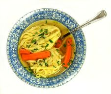 Free Plate With Soup Stock Photo - 13714530