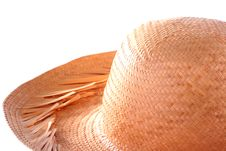 Free Straw Hat Royalty Free Stock Photos - 13714818
