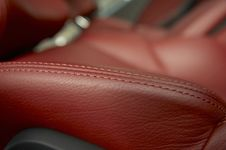 Free Red Car Seats Stock Images - 13715714