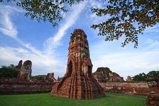 Free Thai Ancient Temple Stock Photos - 13715973