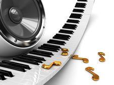 Free Music Background Stock Image - 13716311
