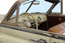 Free Beige Cabriolet Royalty Free Stock Photography - 13716417